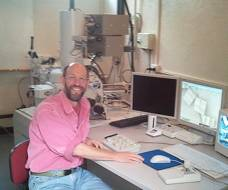 Lama Mark using the Scanning Electron Microscope.