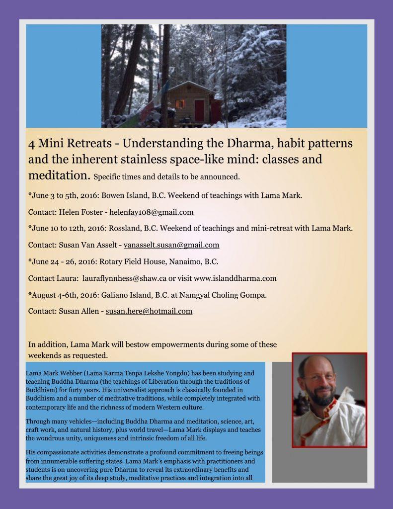 4 mini-retreats poster-draft