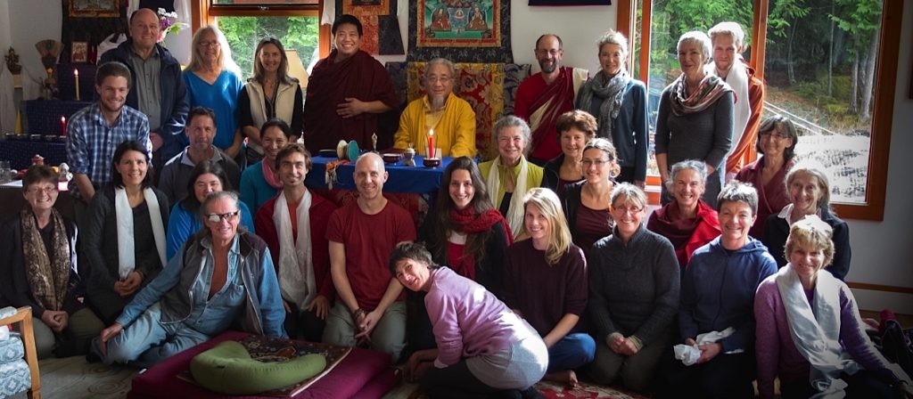 Group pic-Ontul Rinpoche Oct 2014-Namgyal Gompa-S0202795 Banner