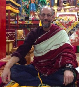 Lama Mark Webber in Tso Pema, India